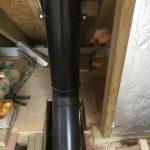 Twin wall insulated flue internal